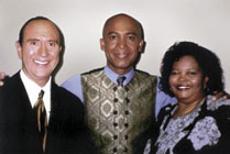 David Kremin, Montel Williams and Sharon Jarnagin